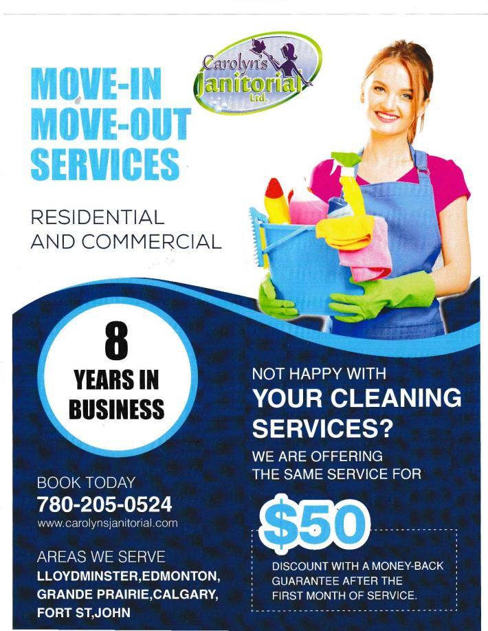 Carolyns Janitorial best price -page-001